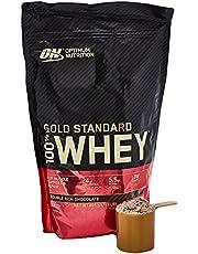 Optimum Nutrition 100% Whey Gold Standard,Double Rich Chocolate,1 lb (0.45 kg)