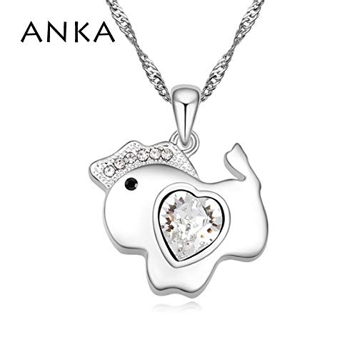 Crystal Horse Necklace Jewelry for Women | Crystal Main Stone