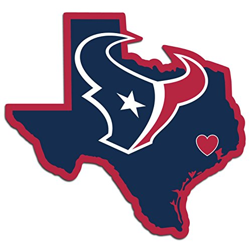 NFL Houston Texans Home State Decal, 5