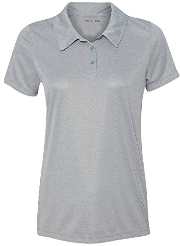 Ladies-Golf-Polos-Moisture-Wicking-3-Button-Golf-Polos-in-20-Colors-XS-3XL