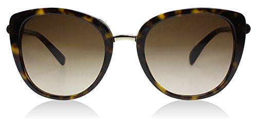 Bvlgari BV8177 504-13 Dark Havana BV8177 Cats Eyes Sunglasses Lens Category 3 S
