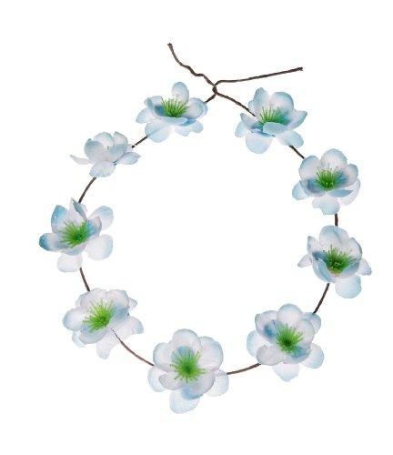 Hippie Love Flower Garland Crown Festival Hair Wreath