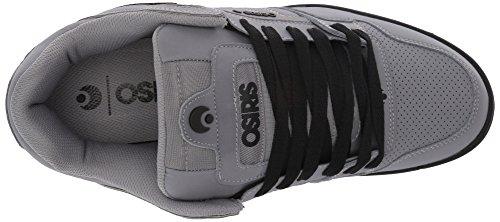 Zapatos Osiris Peril Gris-negro-negro