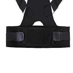 Pro-Coore Back Shoulder Support Adjustable Back Brace for Posture Correction Back Pain Support