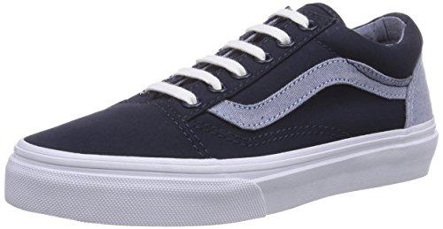 Vans Old Skool, Unisex-Kinder Sneakers Blau (T C /DrssBlus/C FN6)