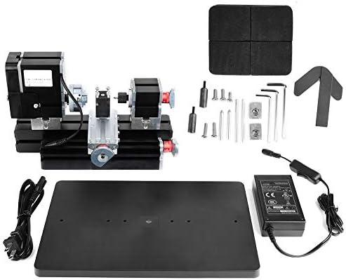 ミニ60 w旋盤機12000 rpmモータ木工模型作り軟質金属diyツール