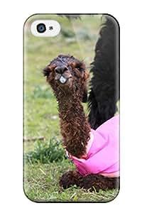 Series Skin Case Cover For Iphone 4/4s(alpaca)