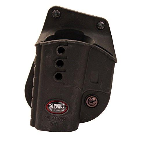 Fobus GL43NDLH Glock 43 Paddle Holster, Left Hand (Left Hand Paddle Holster)
