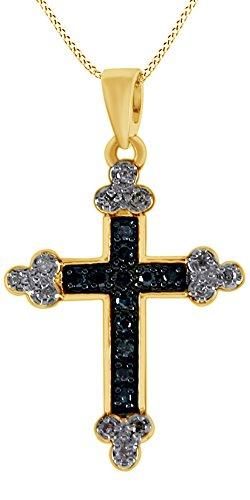 0.24 Ct Diamond Cross - 8