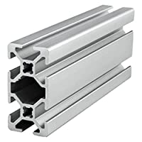 80/20 Inc, 20-2040, 20 Series, 20mm x 40mm T-Slotted Extrusion x 1220mm by 80/20 Inc.