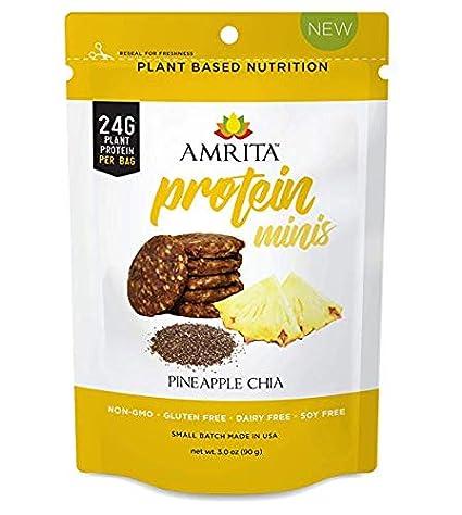 Amrita Health Foods Barras de energía Snack, Colegio paquete de ...