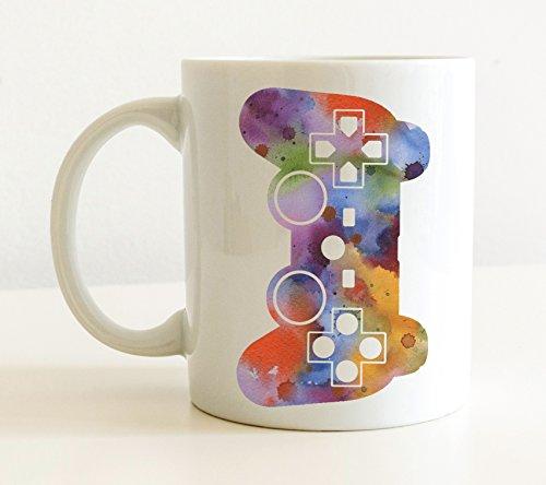 Video Game Controller Mug - Video Game Lover Coffee Mug - 11 oz - Unique Video Gamer Gifts