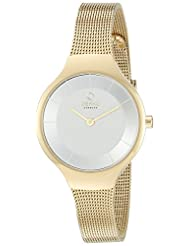Obaku Women's V166LXGIMG Gold-Tone Stainless Steel Watch