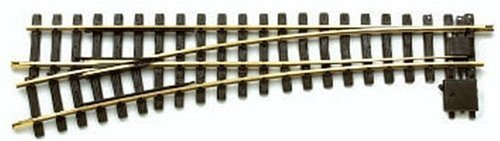 (LGB Manual Switch, Left 15-Degree G Scale Turnout, R5)