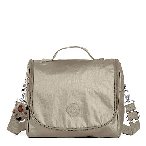 Kipling Kichirou Insulated Lunch Box, Metallic Pewter