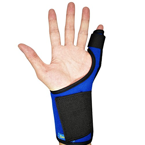 Trigger Finger Splint for Pinky,Little Finger - Mallet Finger Splint Support - Adjustable Fixing Belt with Built-in Aluminium - Tendon Release & Pain Relief by GenetGo