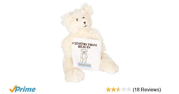 fb1cb246c73a Amazon.com: Whispers from Heaven Bear Memorial Keepsake: Toys & Games