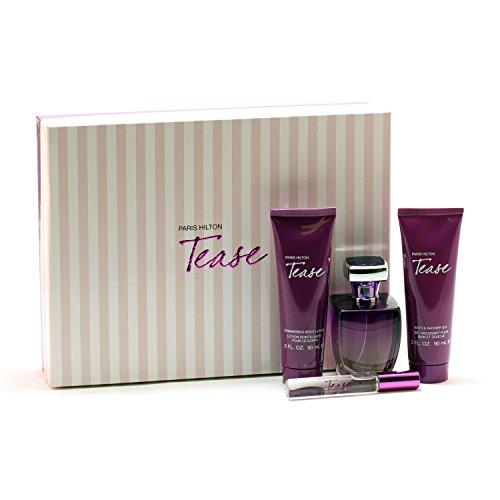 Paris Hilton Tease For Women By Paris Hilto N - 34Sp/ 3Bl/ 3Sg/ Mini Set