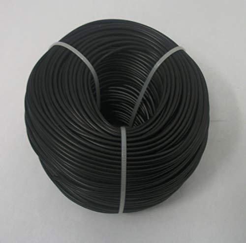 RetroArcade.us 018227476430 18 awg tinned Copper Stranded Hook up Wire, 328 feet per Black ul1015