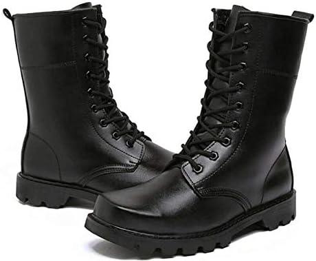 男性と女性は滑り止めのレースアップスタイル、快適なアウトドアスポーツのためのスーパースエード細孔換気耐摩耗ラバーソールの靴をトレッキング用ブーツをハイキング (色 : 黒, サイズ : 27.5 CM)