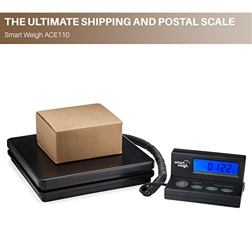 Smart Weigh Digital Shipping And Postal Weight Scale 110 Lbs X 0 1 Oz Ups Usps Post