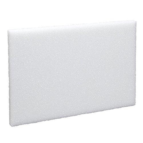 Arranger Styrofoam Block (FloraCraft Styrofoam Block 0.9 Inch x 11.8 Inch x 17.8 Inch White)