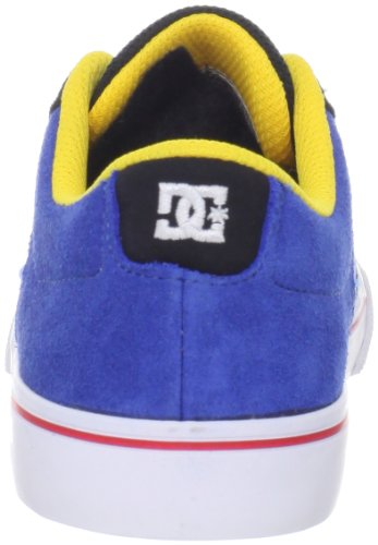 DC Shoes Cole Pro-d0320038 - zapatillas de skateboard de cuero niño Multicolor - Black/Royal/White