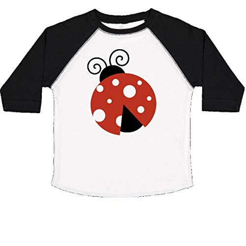 (inktastic - Ladybug, Ladybird, Lady Toddler T-Shirt 3T White and Black 2068c)