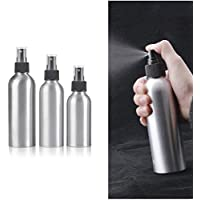 QZ Small Portable Refillable Aluminum Spray Bottle for Travel Convenient Empty Perfume Atomizer Bottles Cosmetic…