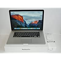 Apple MacBook Pro 15-Inch Retina Laptop i7 2.5GHz - 3.7GHz / 16GB DDR3 Ram / 512GB PCIe Flash SSD / Radeon R9 M370X 2GB Video / OS X High Sierra / Thunderbolt / Magic-Mouse / MJLT2LL/A