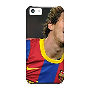 Flexible Tpu Back Case Cover For Iphone 5c - The Best Forward Player Of Barcelona Lionel Messi