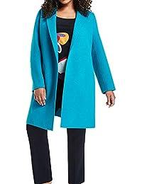 Marina Rinaldi Women's Notare Wool Coat, Turquoise