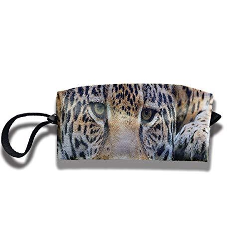 Fdsk5742 South American Jaguar Pen Holder Clutch Wristlet Wallets Purse Portable Storage Case Cosmetic Bags Zipper,Travel Bag,Pencil Pen Bag
