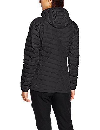 Black Columbia Lite Jacket Hooded Women's Ski Powder vwZqwFYH