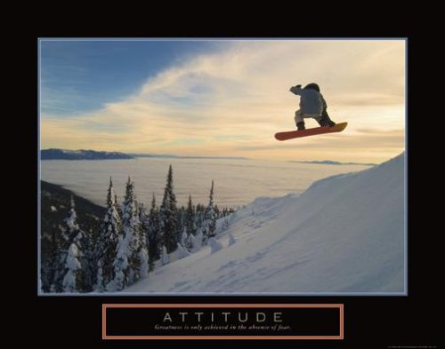 Snowboard in the Sky Motivational Poster Snowboarding Inspirational Art Print Snow Board Picture Art Poster Print, 28x22 Art Poster Print, 28x22 Art Poster Print, 28x22