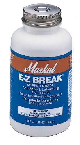 Markal EZ Break Copper Grade Antiseize Paste, 1800 Degree F Temperature, 425 lbs by Markal