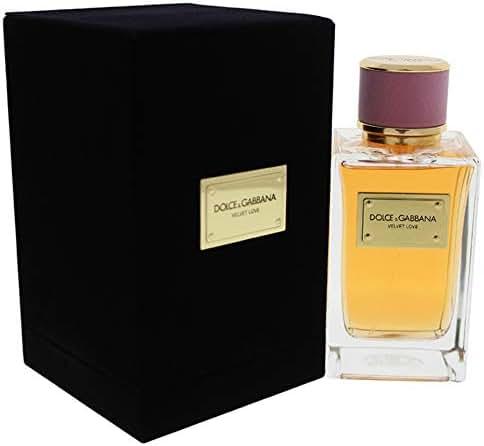 Dolce and Gabbana Velvet Eau de Parfum for Women, Love, 5 Ounce