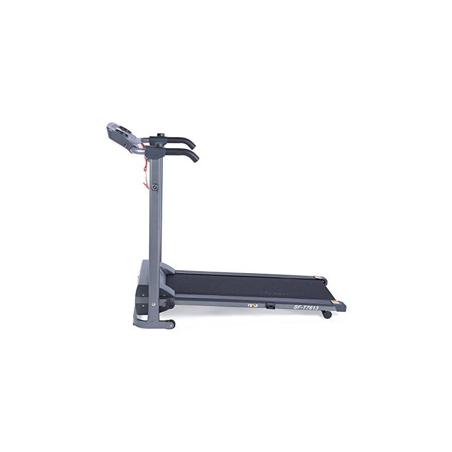 Sunny Health & Fitness T7613 Easy Assembly Motorized Folding Treadmill