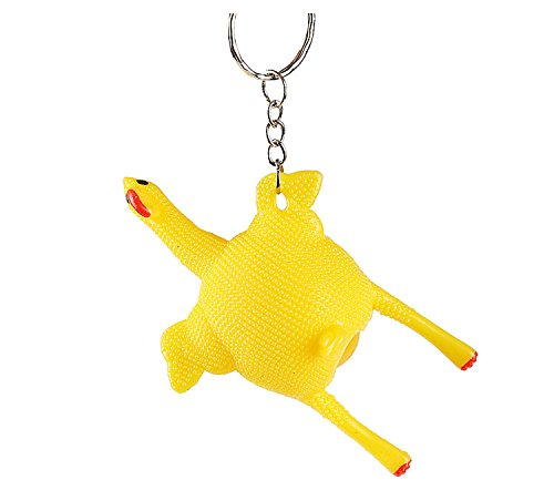 Stress Relief Vent Tricky Toys Squeeze Chicken Laying Egg