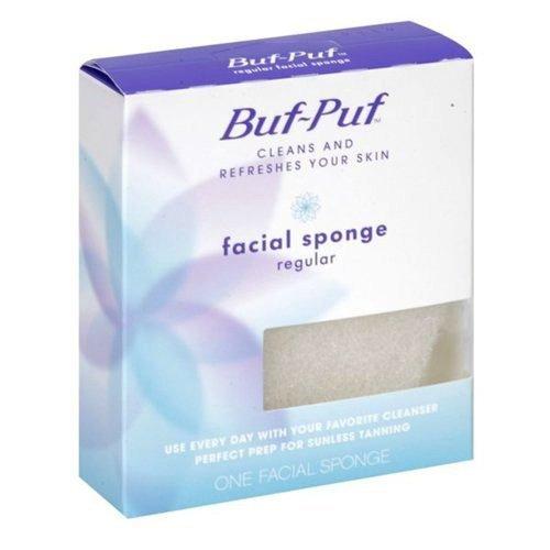 Facial sponge buf puf that