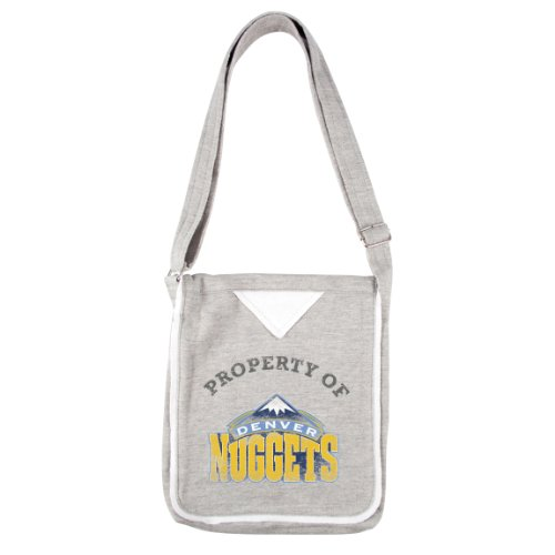 NBA Denver Nuggets Hoodie Cross Body Purse by Littlearth