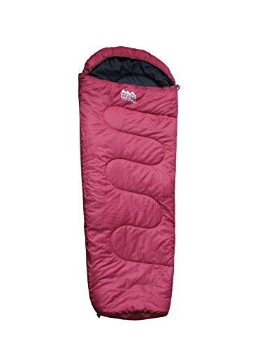 World Famous Sports 50 Degree 56x28 Mummy Youth Sleeping Bag, Pink