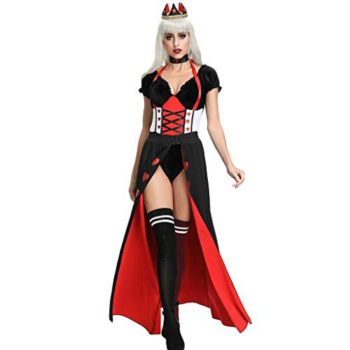 Courts Bride Halloween (Goddessvan 2019 Women's The Court Queen's Ball Suit Halloween Clothes Queen's Prom Dress Costume)