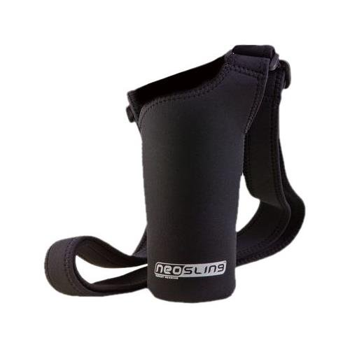 NEOSLING, Adjustable Neoprene Bottle Holder, Jet Black