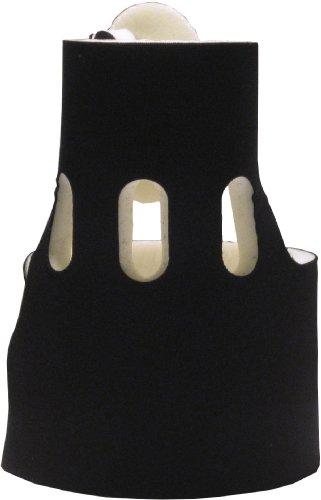Stubfree Orthopedic Wrap Toe Stub Protection Cushion with Fabric Lining (Black/White Reversible)]()
