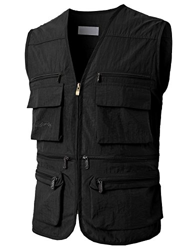 Buy fishing vest 3xl black
