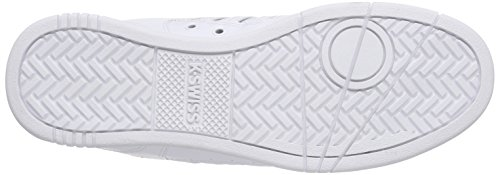 K-Swiss Avery - Zapatillas Hombre Blanco - Weiß (WHITE/DRESS BLUES 117)