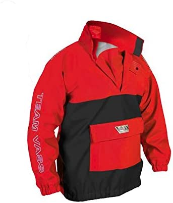 Red//Black Vass-Tex 175 TEAM VASS Lightweight Waterproof /& Breathable Smock
