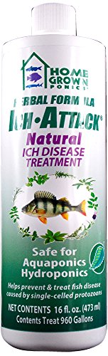 HOME GROWN PONICS Kordon Ich Attack #96022 Natural Disease Inhibitor - 16 oz. (Available 12/cs)