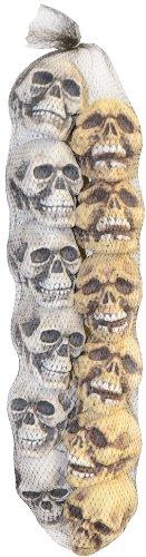 Sunstar Industries Hanging Bag of a Dozen Skulls Tan/White ()